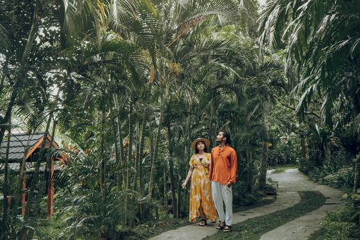 Svarga Loka Resort Bali - Kebun