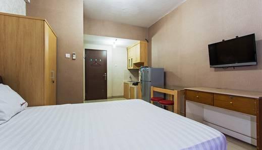 RedDoorz Apartment @ Sunter Park View Jakarta - Kamar tamu