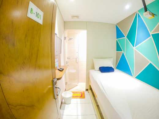 Subwow Hostel Bandung Bandung - Single Private Bathroom