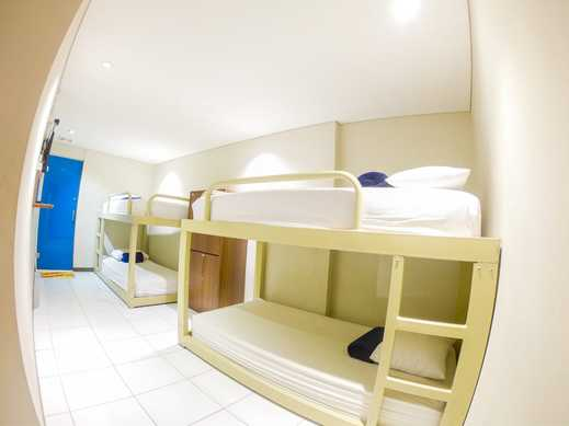Subwow Hostel Bandung Bandung - Bunk Bed