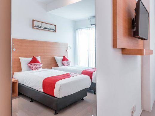 OYO 766 Flagship Prima Orchard Bekasi - Bedroom