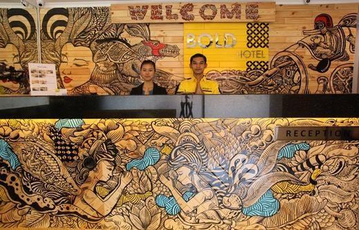 Bold Hotel Jakarta Jakarta - Reception