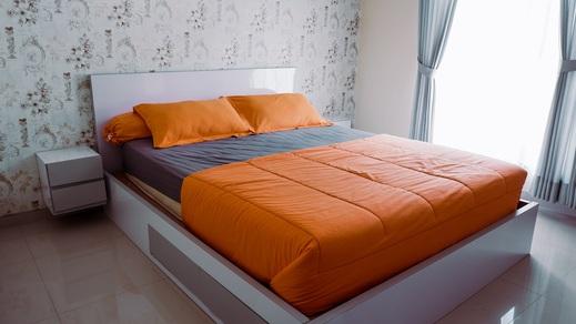 Villa Kenziea - 2 Bedrooms Malang - Bedroom