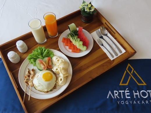 Arte Hotel Malioboro Yogyakarta Jogja - Breakfast