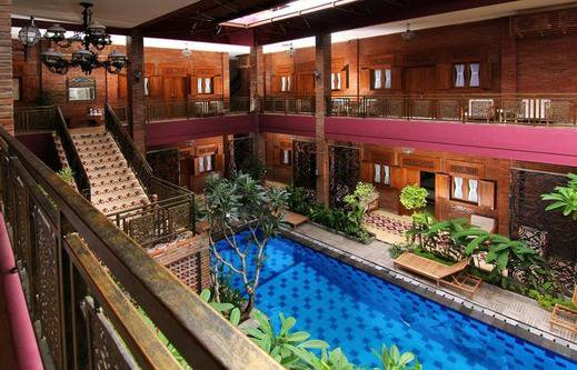 Java Villas Boutique Hotel And Resto Jogja - Kolam Renang
