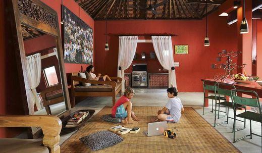 Pink Coco Hotel Bali - Interior