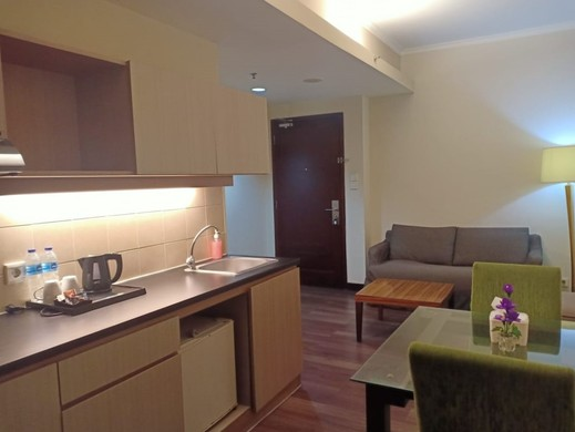 Ancol Marina Residence Jakarta - Dinning Room