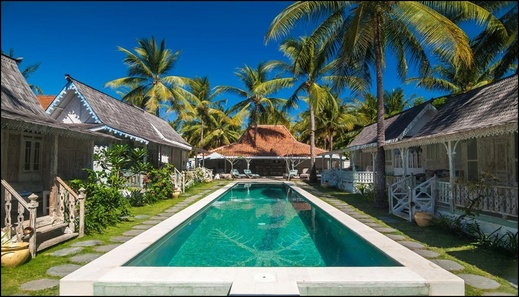 Palmeto Village Lombok - pool