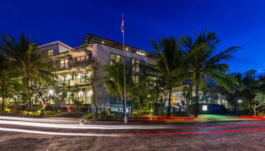 Klapa Resort Bali - Hotel dari Depan
