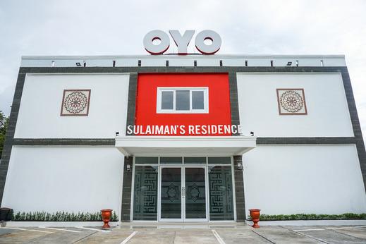 OYO 721 Sulaiman Residence Syariah Padang - Facade