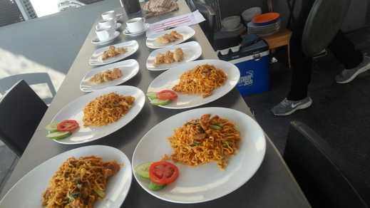 Nusalink Near Trisakti 1 Jakarta - makanan baru