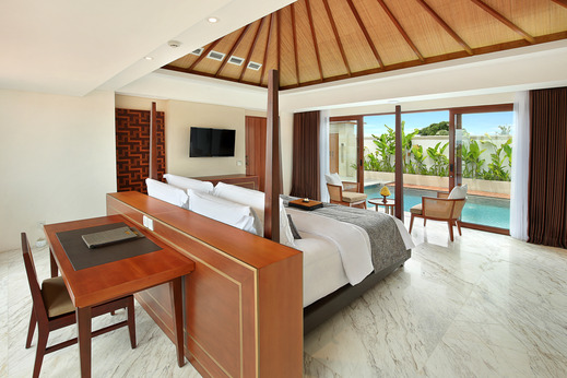 Royal Suites at The Bandha Bali - Royal Suite Villa with Private Pool Legian Bali