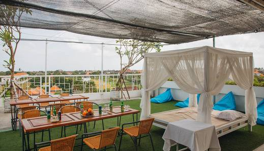 Deva Bali Apartment Bali - Rooftop