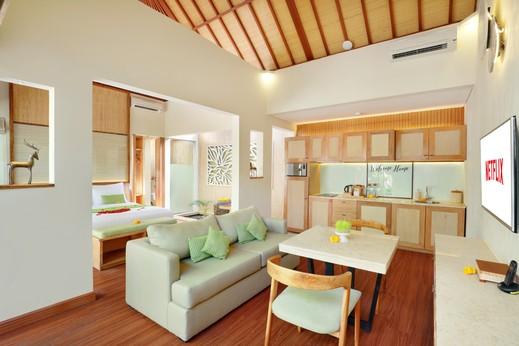 Ini Vie Villa Bali - Ruang Bersantai