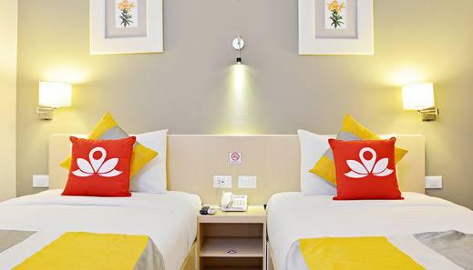 ZEN Premium Cibeunying Riau - Tampak tempat tidur twin