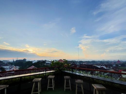 Arrayan Malioboro Syariah Yogyakarta - Rooftop