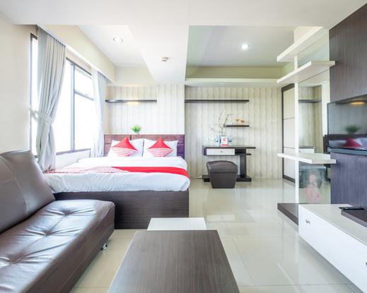 OYO 1085 Jarrdin Apartment Cihampelas Bandung - Bedroom