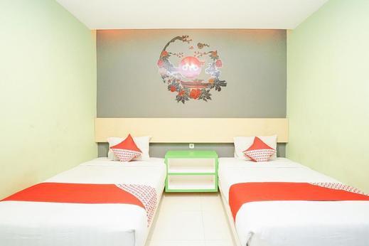 OYO 277 Rukotel Near RSU Adi Husada Undaan Kota Surabaya Surabaya - Bedroom