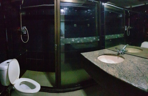 Jambi Raya Hotel Jambi - Bathroom