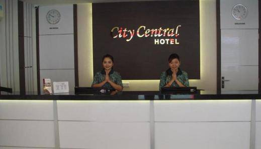 City Central Hotel Batam - Resepsionis