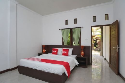 OYO 1840 Kubu Ubud Hotel Bali - Bedroom