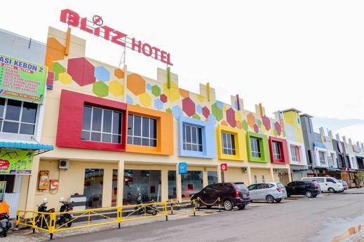 Blitz Hotel Tj Uncang Batam - Exterior