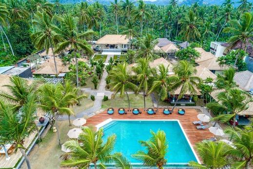 Nirwana Resort Bali - Resort Bird View