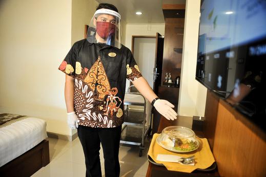 Griya Persada Convention Hotel & Resort Bandungan Semarang - Penyajian Makanan
