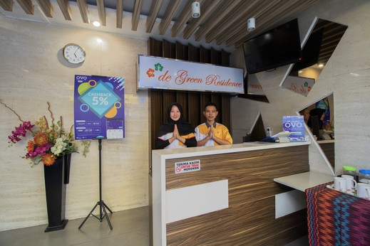 De Green Residence Jakarta - Resepsionis
