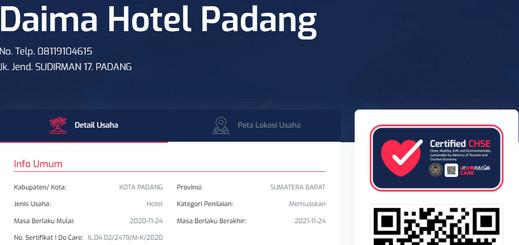 Daima Hotel  Padang - CHSE