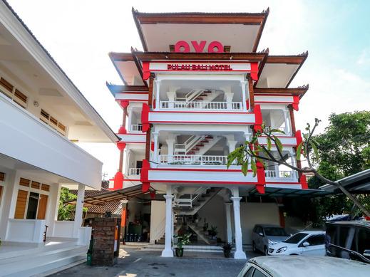OYO 1384 Pulau Bali Hotel Bali - Facade