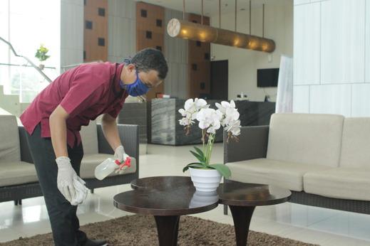 Cipta Hotel Pancoran - disinfektan