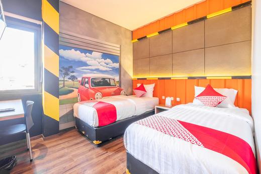 OYO 944 Doorman Guest House Bandung - Bedroom