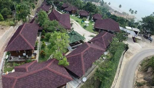 Langkisau Resort Hotel & Restaurant Syariah Pesisir Selatan - Pamandangan