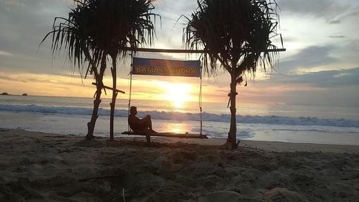 Penginapan Bayu Samudra Pantai Santolo Garut - View