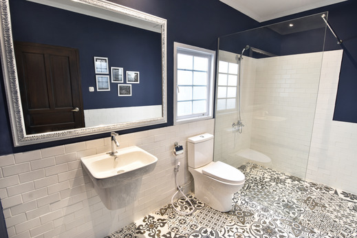 La Casa Jogja Yogyakarta - Double Room Bathroom