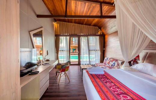 Mola2 Resort Gili Air Lombok - Kamar