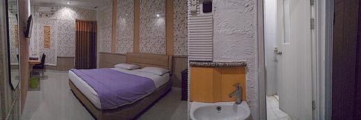 Novon Family Hotel Syariah Malang - Kamar family single bed