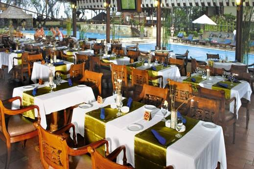 The Jayakarta Bali Beach Resort Bali - Restoran