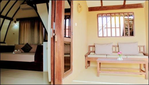 D'Gilian Bungalow Lombok - interior