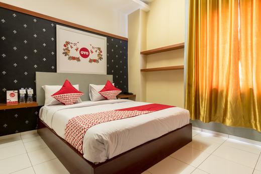 OYO 615 Residence Puri Hotel Syariah Medan - Bedroom