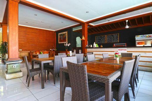 Mirah Hostel Bali - Restaurant