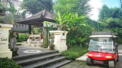 Villa Nirvana Bali - Front of Property