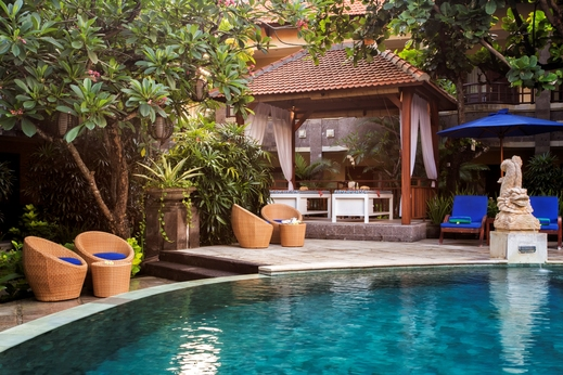 Adhi Jaya Hotel Bali - Swimming Pool Area