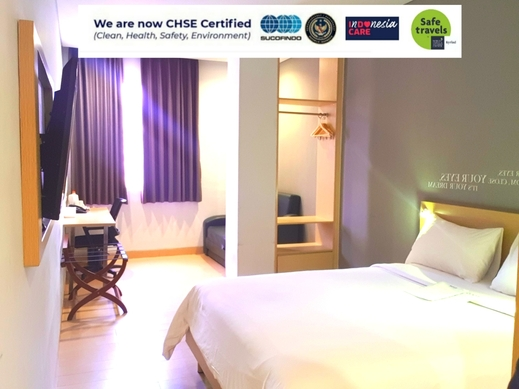 Kyriad Hotel Fatmawati Jakarta Jakarta - Double Bed