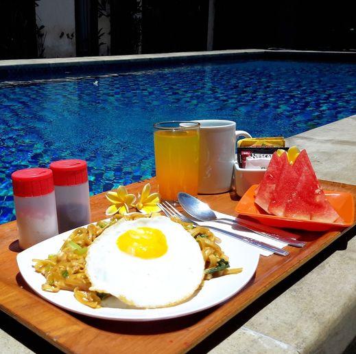 Coco De Heaven Bali - Breakfast Area
