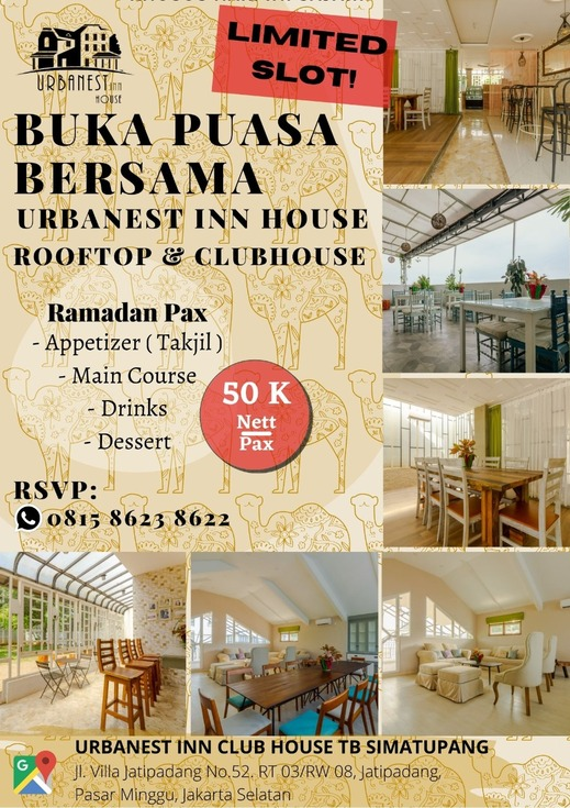 Urbanest Inn House TB Simatupang Jakarta - Promotion