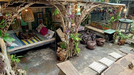 Santhiku Hotel, Villas, Yoga & SPA Bali - Lounge area