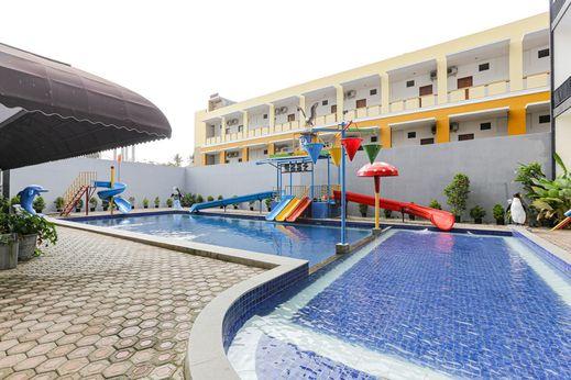 Capital O 1246 Hotel Grand Pacific Pangandaran - Swimming Pool