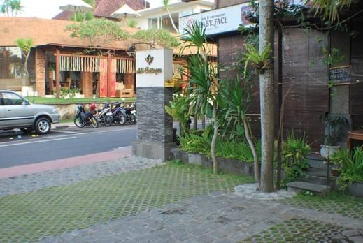 Adi Cottages Ubud - Tampilan Luar